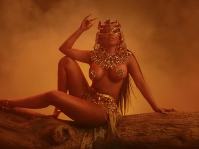 Nicki Minaj presume sus curvas en su nuevo video 'Ganja Burn' ¡No te lo puedes perder!