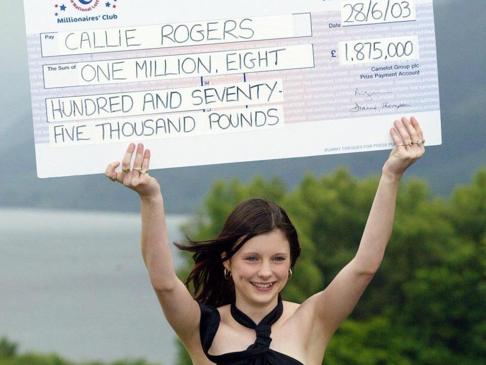 Ganó la lotería con 16 años, lo perdió todo y asegura que ahora es más feliz