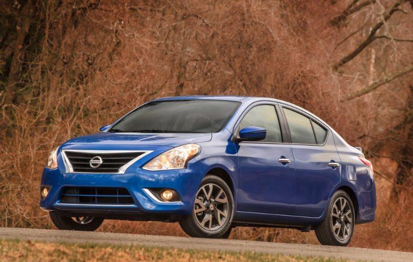 Nissan Versa. Crédito: Cortesía Nissan.