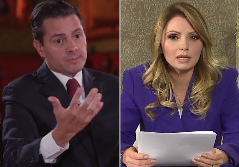 Enrique Peña Nieto intentó lavar su imagen y la de Angélica Rivera en entrevista pero solo la ensució más