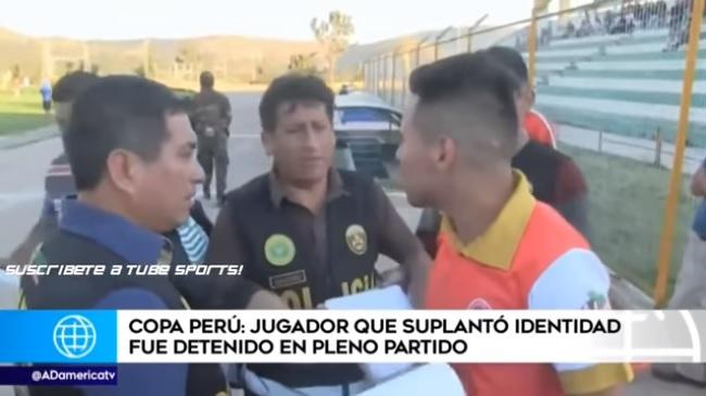 VIDEO: Policía irrumpe en partido de fútbol y arresta a un jugador