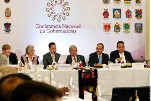 López Obrador se reunió con los gobernadores para analiza el presupuesto 2019