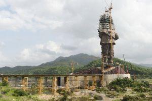 Dónde está la que va a ser la estatua más alta del mundo