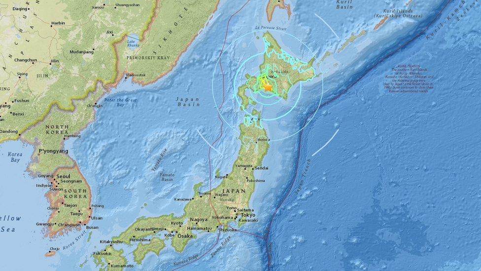 Sismo en Japón: temblor de magnitud 6,7 sacude las cercanías de Sapporo