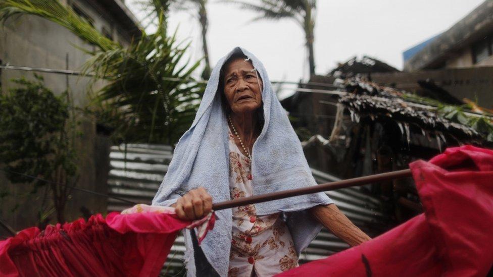 """Supertifón Mangkhut: la destrucción del """"ciclón más fuerte"""" del año en Filipinas"""