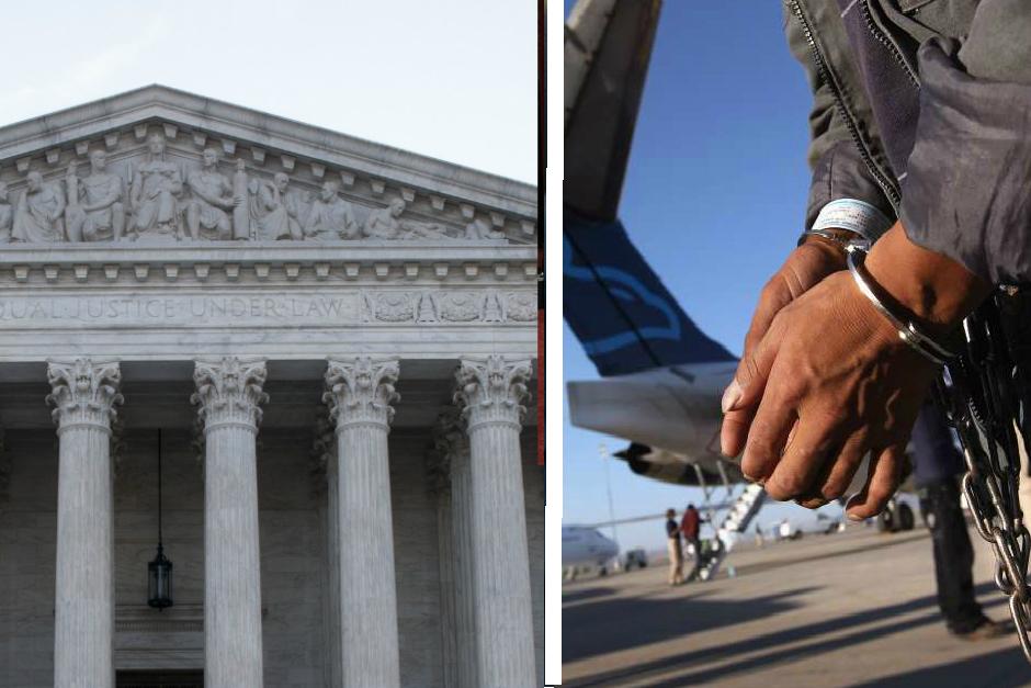 Decisión de la Corte Suprema podría detener cientos de deportaciones