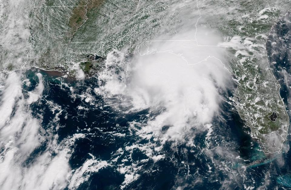 Tormenta tropical Gordon barre con lluvia y vientos los estados del sur