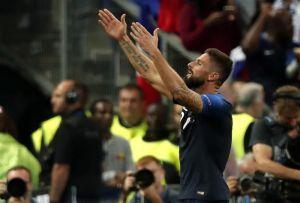 El golazo con el que Olivier Giroud rompió su maldición con Francia