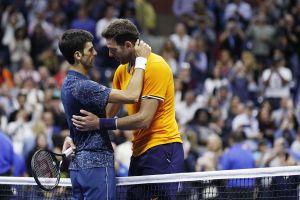 US Open: Del Potro no puede con un Djokovic imperial