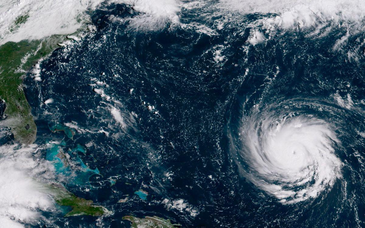 Huracán Florence: Ola de 83 pies de alto fue medida por satélite