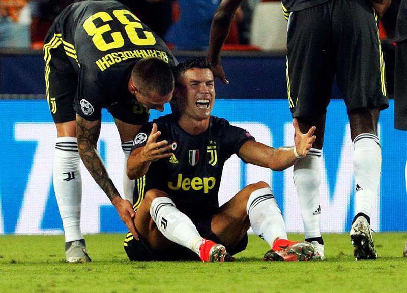 La Champions castiga a Cristiano Ronaldo por su agresión al colombiano Jeison Murillo