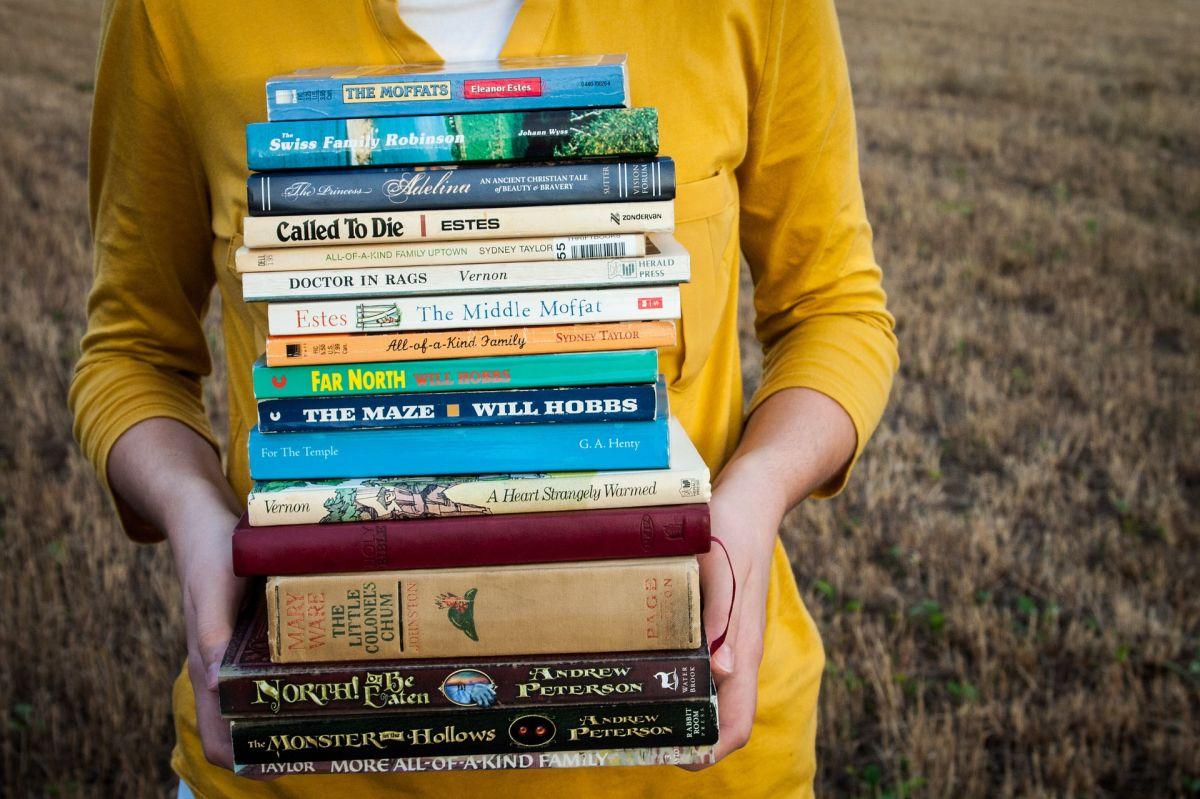 Cientos e incluso miles de libros podrías leer en tan solo un año.