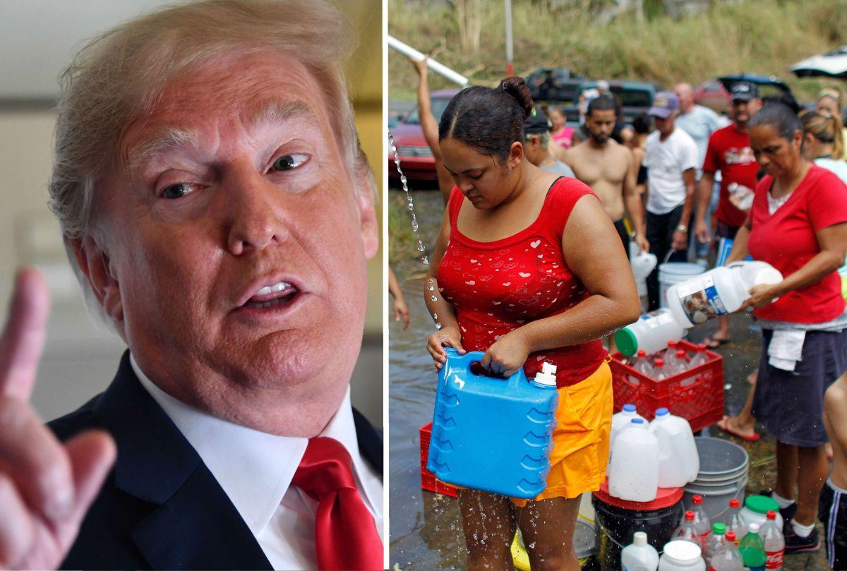 """Sin memoria, Trump asegura que repuesta de su Gobierno al huracán María fue """"un increíble éxito"""""""
