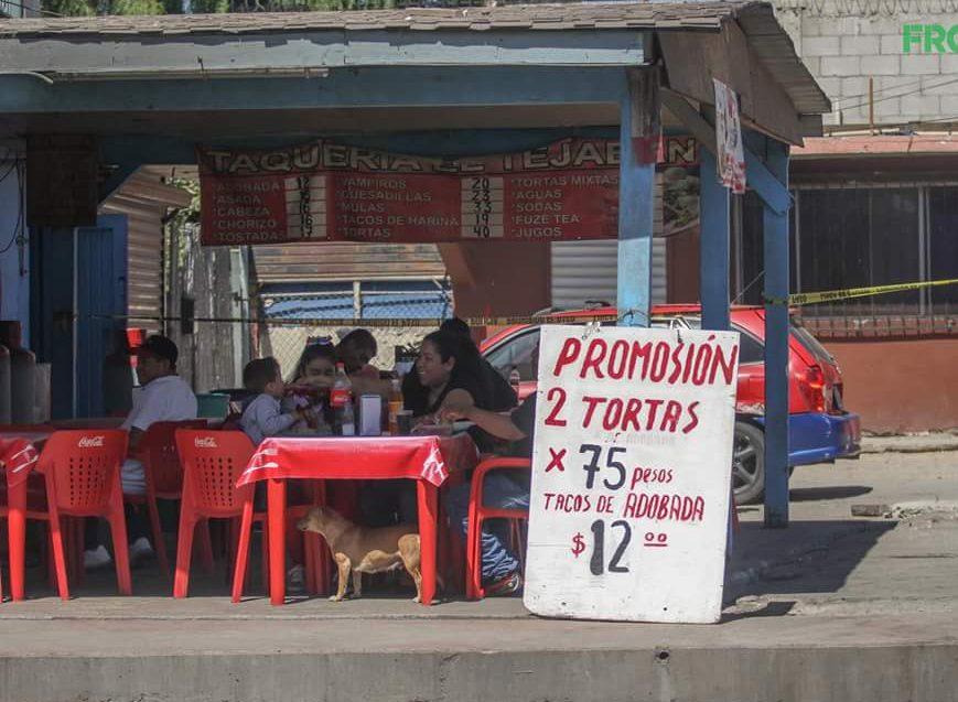 Foto: Lo que hay detrás de este puesto de tacos es perturbador