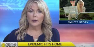 Periodista de TV presenta la muerte de su propia hija por sobredosis