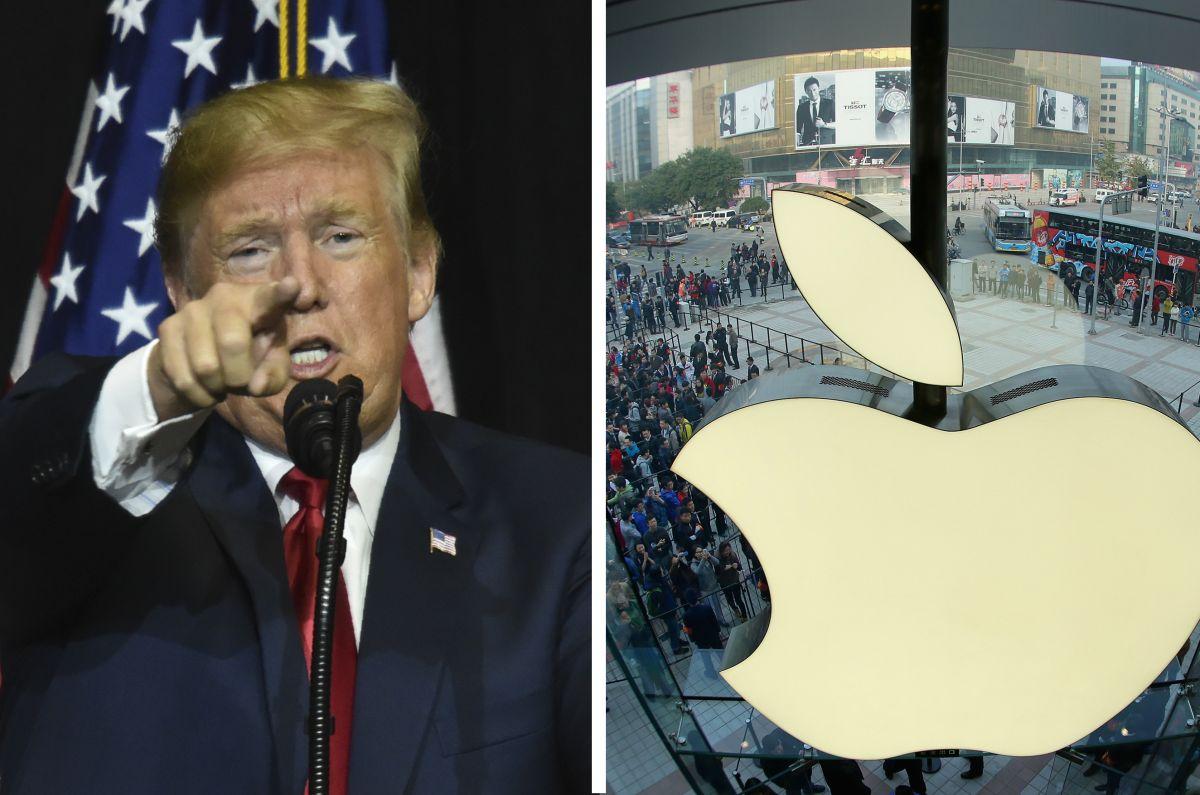 Tuit de Trump pone a temblar a Apple