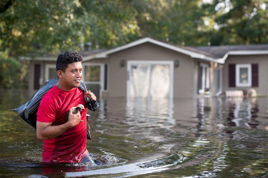 Al menos 43 personas muertas a causa del huracán Florence