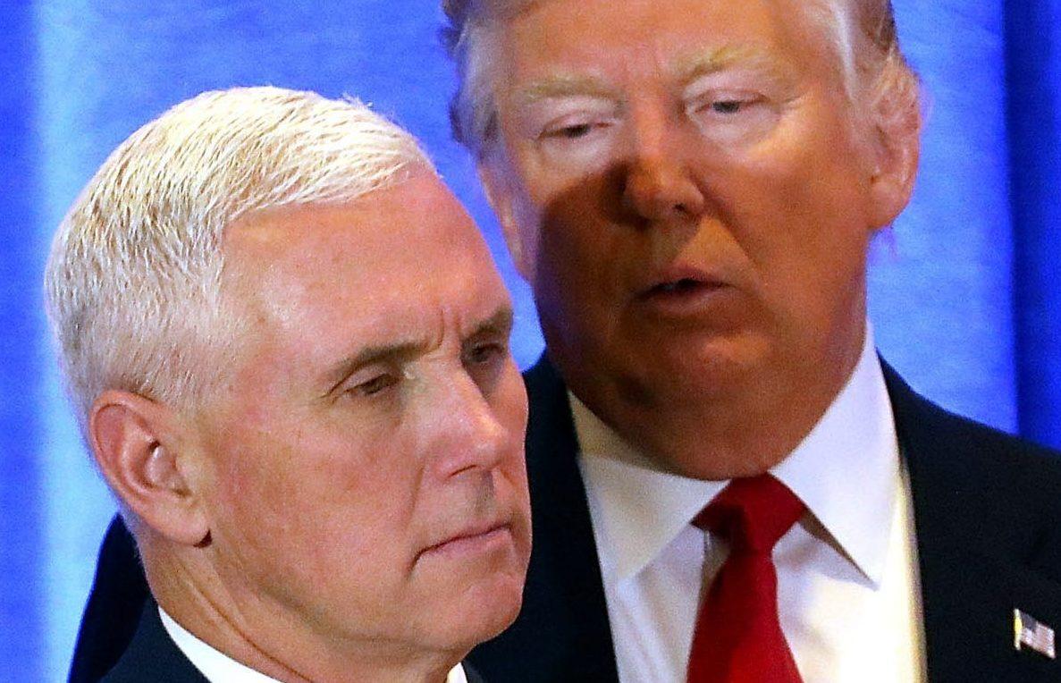 """Pence se sometería al """"detector de mentiras"""" para probar su lealtad a Trump"""