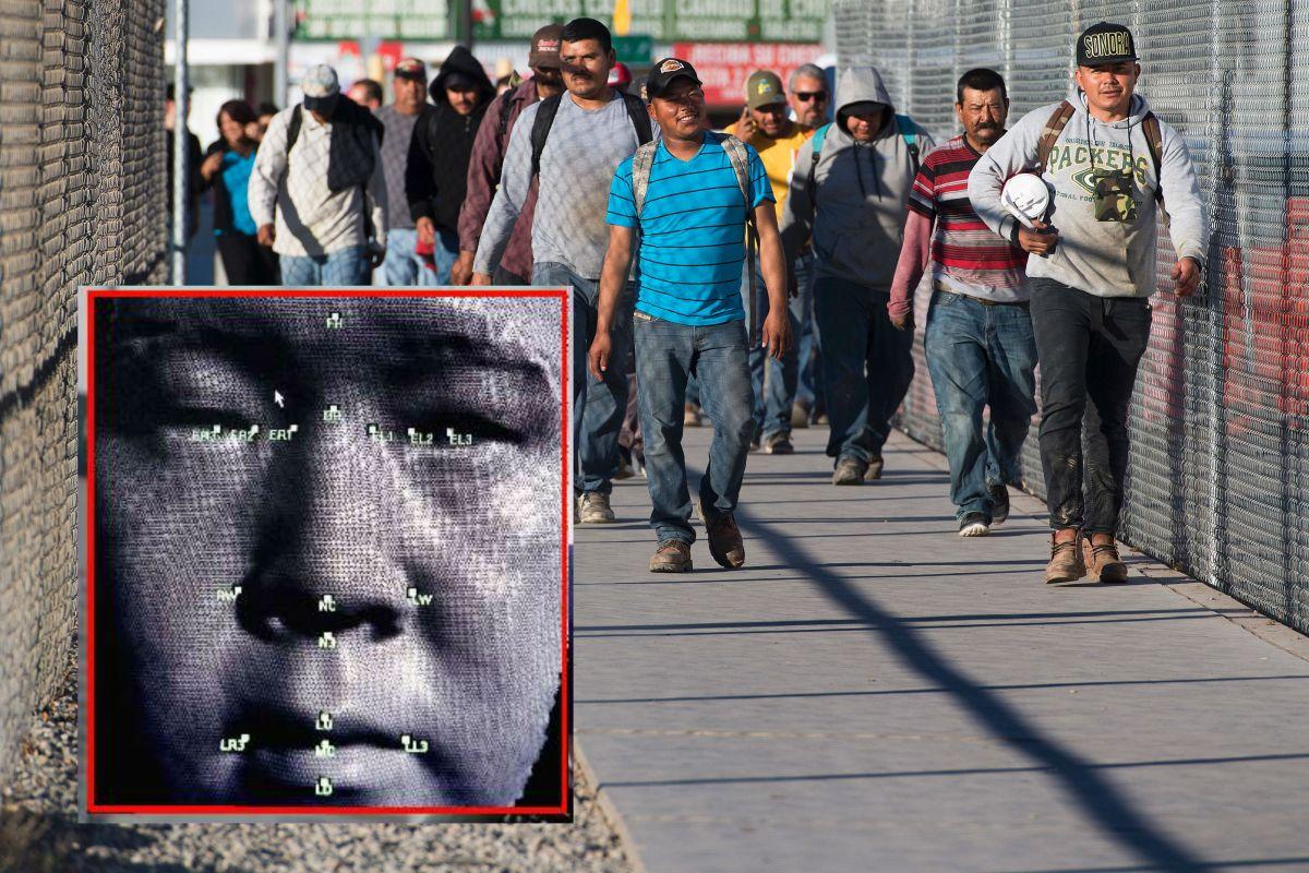 Gobierno Trump inicia comparación facial de inmigrantes en cruce peatonal de la frontera en Arizona