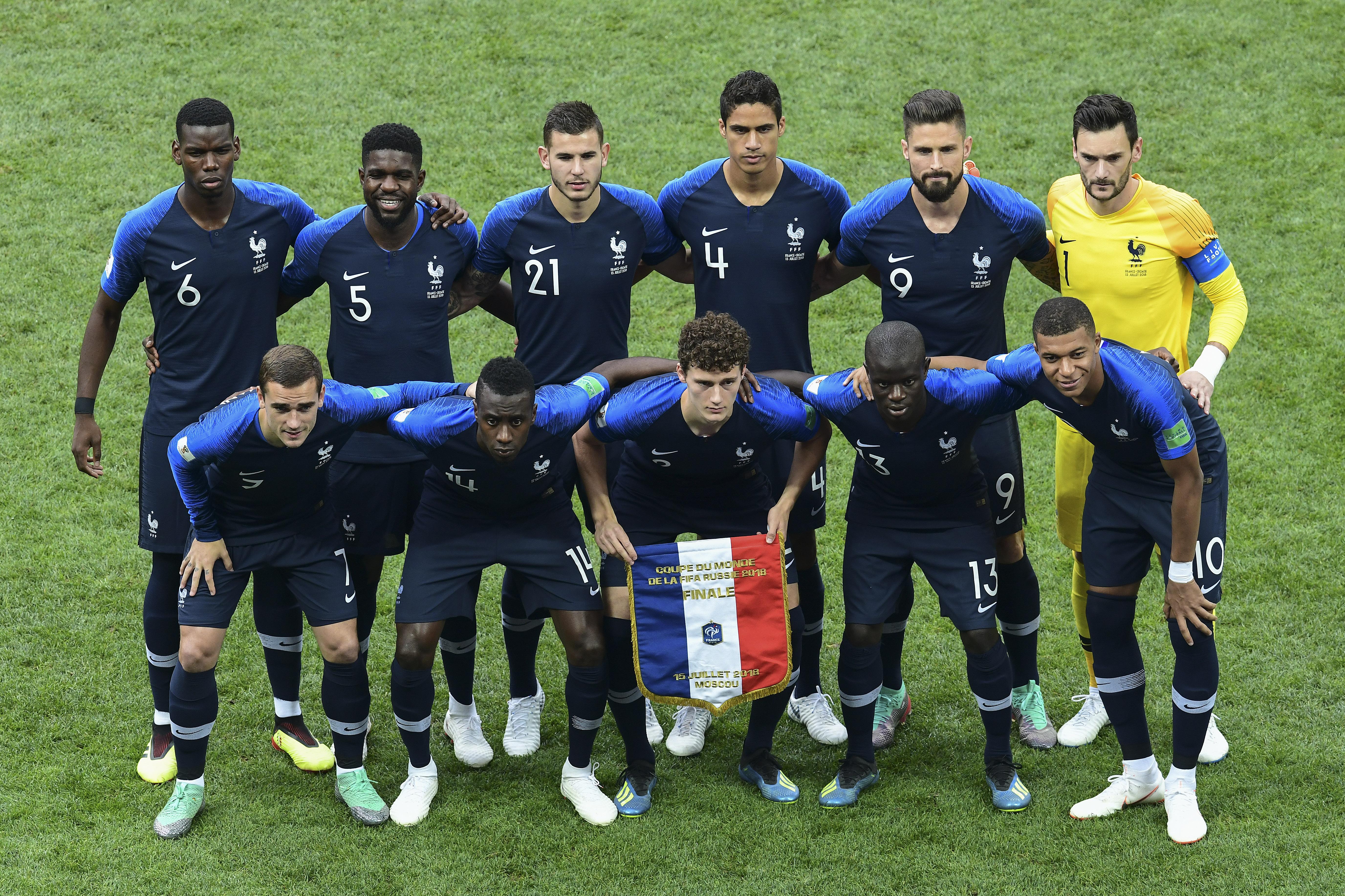 Francia, actual campeón del mundo, debutará ante Alemania en la Liga de Naciones
