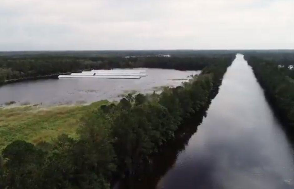 """VIDEO: """"Esto no es un río … esto es la Interestatal 40"""""""