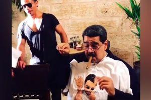 Así disfruta Maduro sus cortes finos de carne en Turquía, el video causa polémica en Twitter