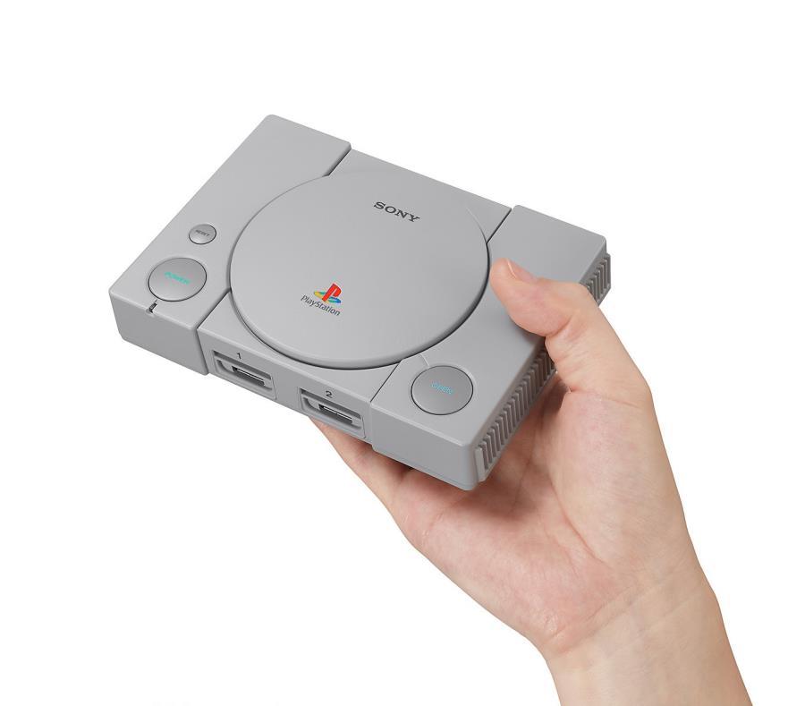 """Sony lanzará versión """"mini"""" de la clásica PlayStation"""