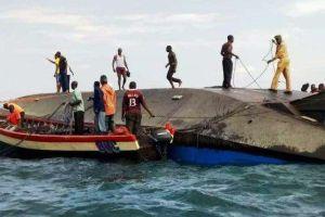Suben a 209 los muertos por naufragio de un ferry en el lago Victoria