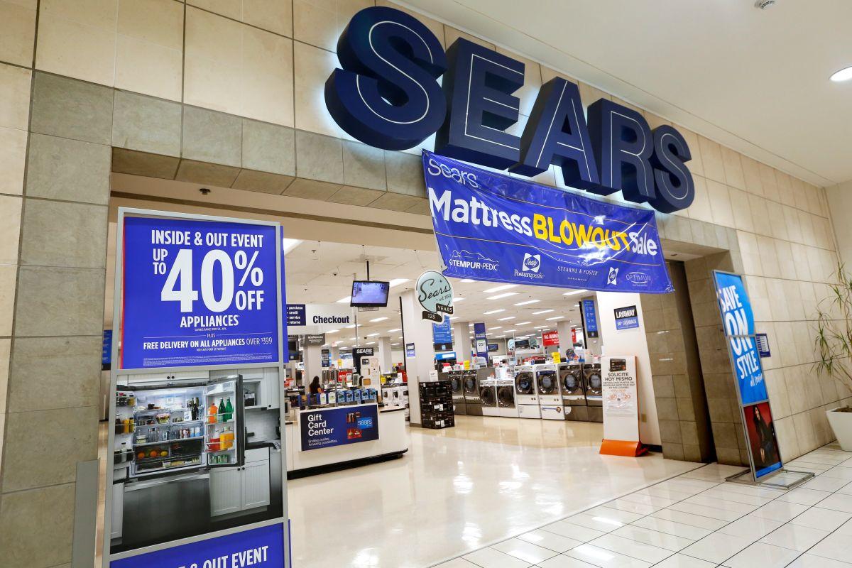 Desde 2018, Sears se declaró en quiebra situación que ha hecho que miles de almacenes cerraran en todo el país.