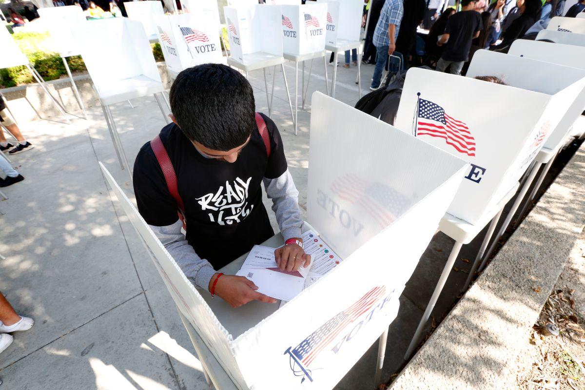 California y los latinos podrían cambiar el rumbo del país este martes