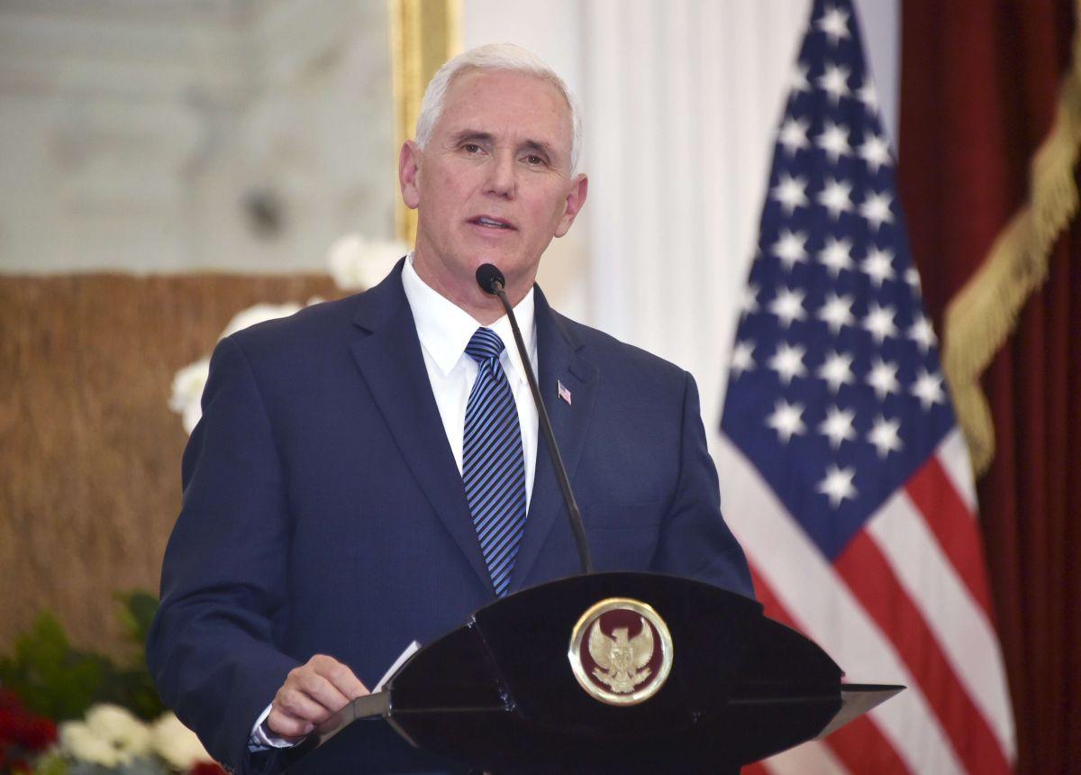 La Embajada de EEUU en Honduras utilizó un comentario del vicepresidente Mike Pence.