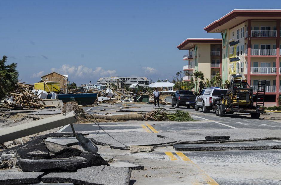 Huracán Michael: Buscan víctimas casa por casa en Mexico Beach y Panama City