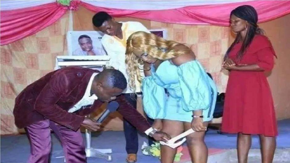 """Pastor pide a mujeres que se quiten ropa interior para """"recibir al Espíritu Santo"""""""
