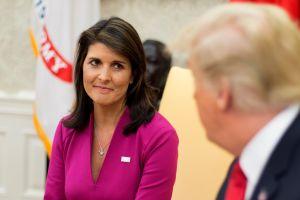 Renuncia Nikki Haley, embajadora de Estados Unidos ante la ONU