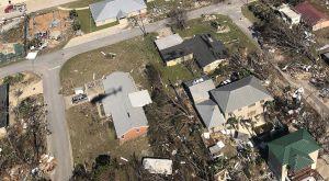 Huracán Michael dejó 7 muertos, miles de víctimas y una base militar destruida