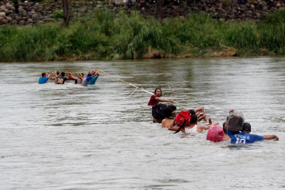 México empuja a inmigrantes centroamericanos a las rutas más peligrosas por mar