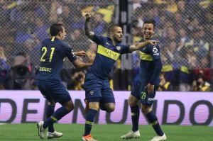 Boca Juniors pone un pie en la final de la Copa Libertadores gracias a Benedetto
