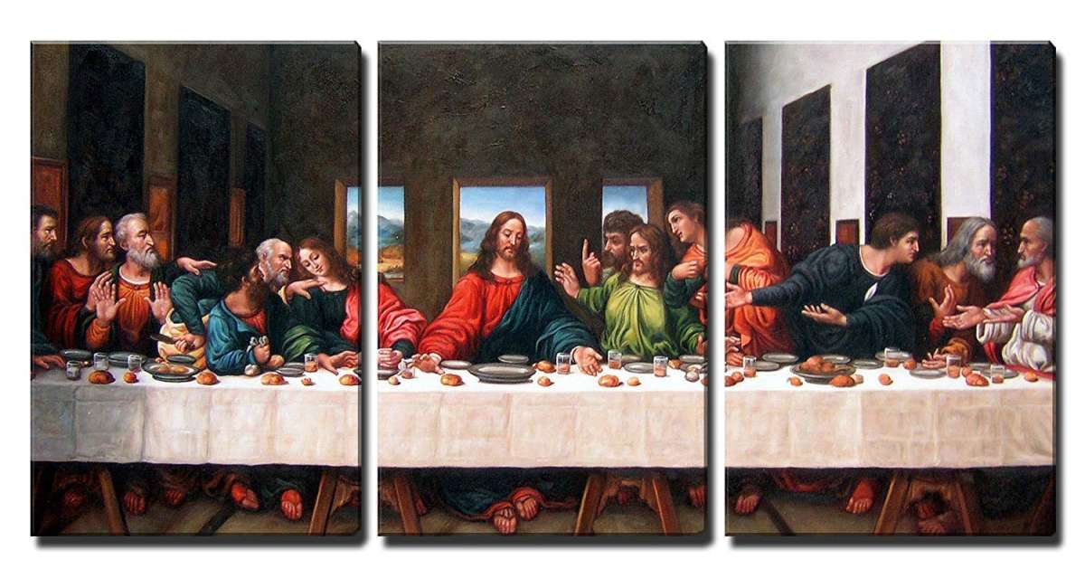 5 Cuadros De La última Cena De Jesús Para Regalarle A Un Familiar Religioso La Opinión