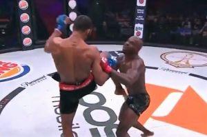 El impactante rodillazo con el que terminó una pelea en Bellator