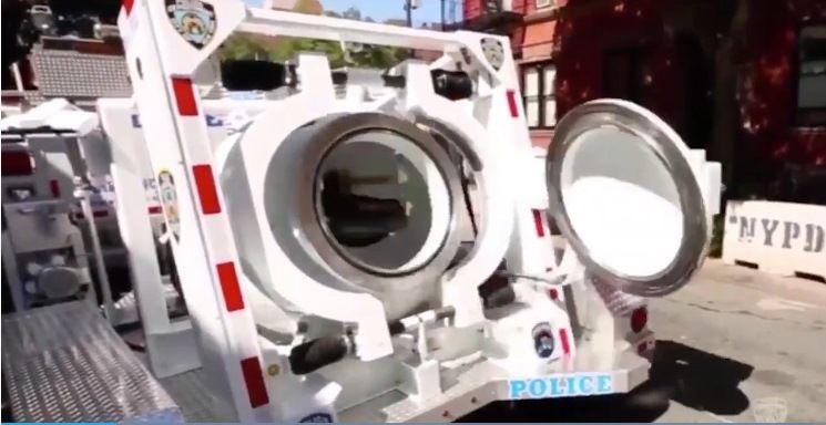 ¿Cómo se transportan y dónde se investigan las bombas halladas en Nueva York?