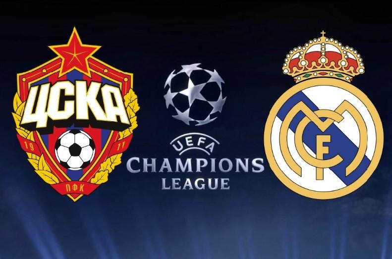 Champions League: CSKA Moscú vs. Real Madrid, horario y canales de TV