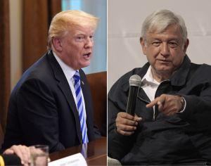 ¿AMLO aceptó el muro de Trump a cambio del TLCAN o USMCA?