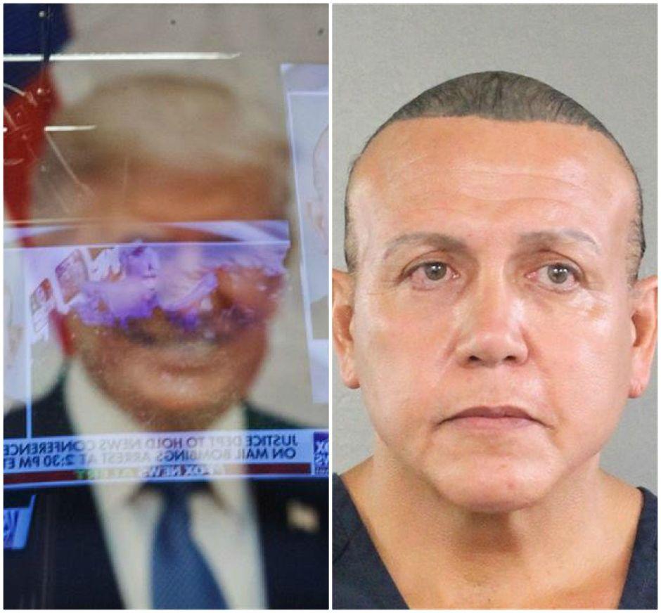 """Fanático de Trump y con récord criminal, el perfil del sospechoso por envío de paquetes explosivos a figuras """"demócratas"""""""