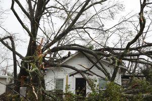 El huracán Michael pierde fuerza en el sur centro de Georgia