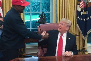 """El """"embarazoso"""" monólogo de Kanye West que dejó a Donald Trump sin palabras"""