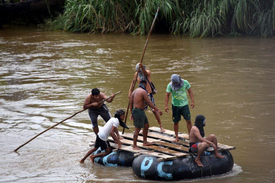 Gobierno mexicano registrará oficialmente hasta el iris de migrantes centroamericanos