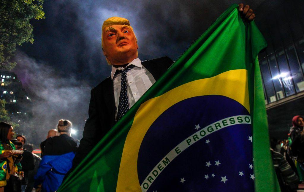 Bolsonaro celebra en Washington su conservadurismo y afinidad con Trump