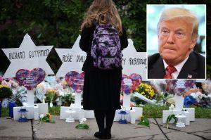 """Líderes judíos rechazan visita de Trump a Pittsburgh tras tiroteo: """"No es bienvenido"""""""