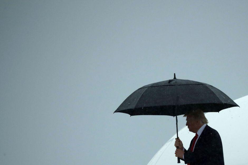 VIDÉO: Estas imágenes definen al presidente Trump