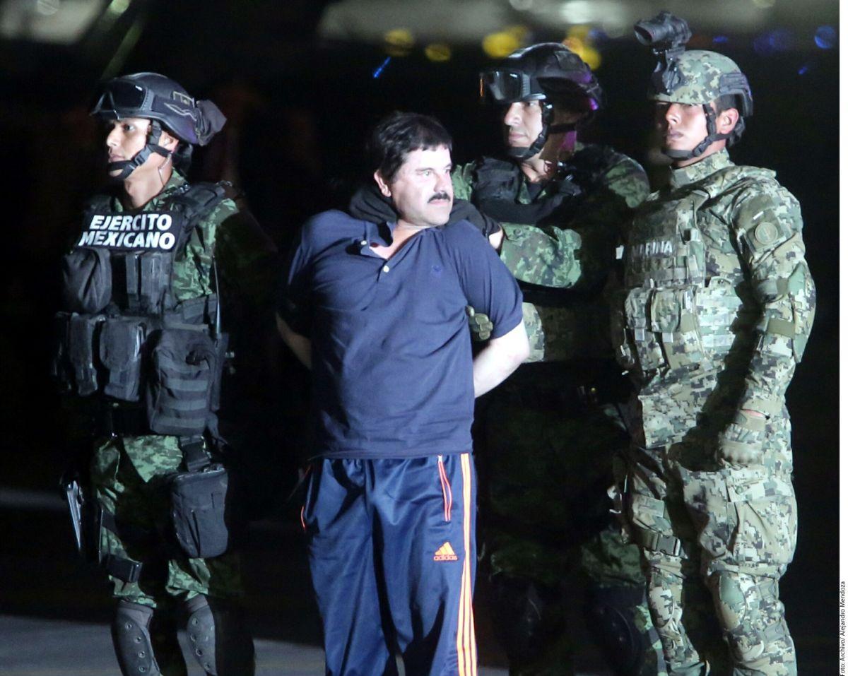 El Chapo Guzmán escapó del penal  de puente grande en 2001.